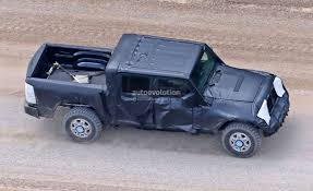 Jeep Wrangler Pickup Truck Is Finally Here And It U0027s Big