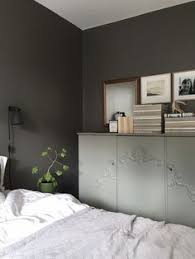 stylish home in grey via coco lapine design blog bed room