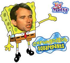 expunged bob square pants toy mashup