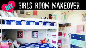 diy girls room makeover youtube