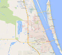 Largo Florida Map by Melbourne Florida Map