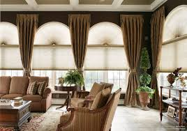 Bay Window Curtains For Living Room Living Room Mid Century Interior With White Bay Windows Also