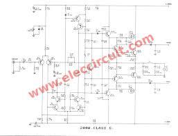 watt mosfet power amplifier circuit class g electrical diagram