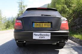 bentley suv 2014 spied 2016 bentley crossover pictures india car news