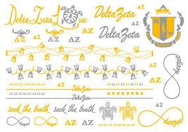 sorority metallic flash tattoo sheets u2013 campus connection