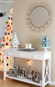 White Foyer Table White Wood Entryway Table U2013 Rtw Planung Info