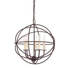 Candle Hanging Chandelier Jvi Designs 3032 Large 18 Inch Diameter 5 Candle Modern Hanging