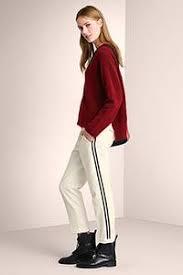 louisa cerano luisa cerano white trousers cassiniboutique