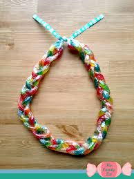 candy leis how to braid a gummy worm candy the candy