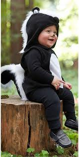 Baby Boy Costumes Halloween 25 Skunk Costume Ideas Baby Halloween