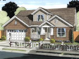 craftsman house plans with pictures house plan 61421 at familyhomeplans com