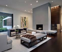 Christmas Tree In Modern Furniture Home Living Room Stock Photo - New modern living room design