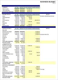 sample business budget 9 documents in pdf excel