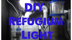 best led refugium light diy refugium light reef tank update youtube
