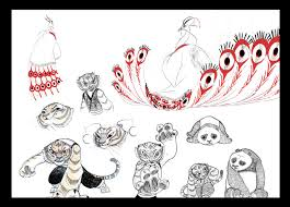 kung fu panda sketches by kyomitsu on deviantart