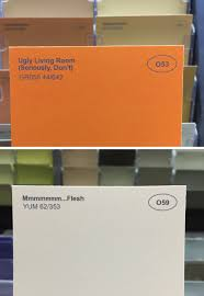 i renamed some of the paint colors at the hardware store album
