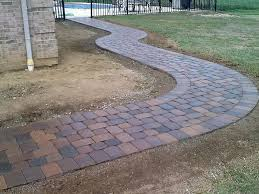 Laying Pavers For Patio Laying A Patio With Pavers Paver Patio Options Fresh Installing