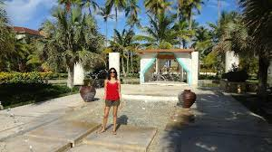 now larimar punta cana wedding water and an altar looking place seems like weddings