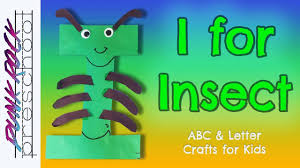letter i for insect fun preschool crafts for kids best