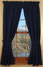 Tie Back Kitchen Curtains by Navy Blue Kitchen Curtains Kitchen Ideas