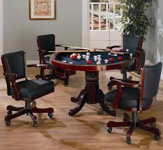 Poker Dining Room Table West State Billiards Game Tables