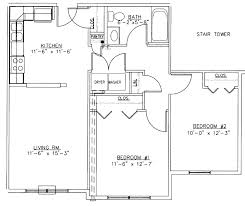 two bedroom cottage plans two bedroom townhouse plans level 1 one bedroom house plans