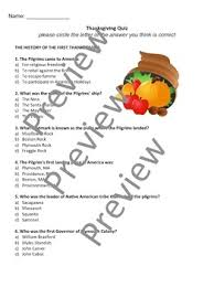 thanksgiving trivia quiz 33 questions 8 categories by thought