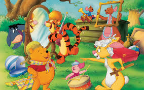 winnie pooh family desktop background hd 1920x1080 deskbg