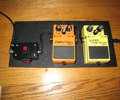 Homemade Pedal Board Design by Simple Pedalboard 7 Steps