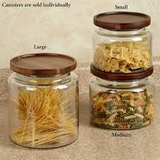 clear canisters kitchen calvina stackable glass kitchen canisters