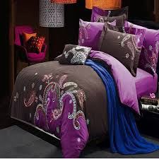 Paisley Pop Duvet Cover Purple Paisley Bedding Exotic Tastes By Paisley Bedding U2013 All