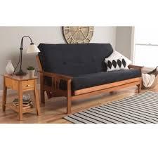 somette beli mont multi flex honey oak full size futon frame and