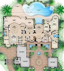 six bedroom house plans 6 bedroom 9 bath mediterranean house plan alp 089l allplans com