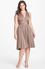plus size fashion spotlight the convertible dress plus model