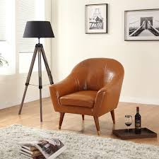 Small Wingback Chair Design Ideas Furniture Leather Wingback Chair For Modern Family Room