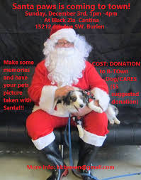 Seeking Who Is Santa B Town Seeking Volunteer Photog Elves For Santa Paws Pics