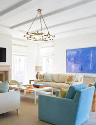 light bright and colorful great room interior design by jenkins