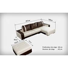 canap hauteur assise 60 canapé d angle design en cuir roma pouf pop design fr