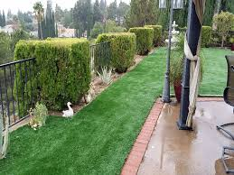 Artificial Grass Backyard by Fake Turf Meiners Oaks California Roof Top Backyard Makeover
