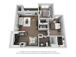 2 bed 1 bath apartment in oceanside ca capella at rancho del for the b1 floor plan