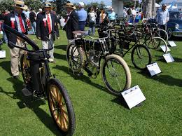 vintage motorcycles at the lajolla motor car classic concours de