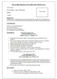 Resume Medical Representative Sample Resume Of Medical Representative In India