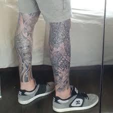 27 leg sleeve tattoo designs ideas design trends premium psd
