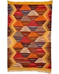 Kilim Area Rug Bargains On Moroccan Handwoven Berber Tribal Wool Kilim Area Rug
