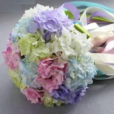 Bridesmaids Bouquets Aliexpress Com Buy Mix Color Fake Flower Bridal Bouquets Silk