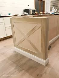 end of kitchen cabinet ideas kitchen island trim and lights the house
