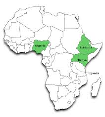 Map Of Africa With Countries by Strengthening University Capacity To Enhance Competitiveness Of