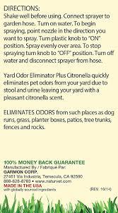 amazon com naturvet yard odor eliminator plus citronella stool