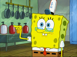 image spongebob with glasses in you don u0027t know sponge png