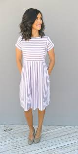 casual summer dresses chambray stripe dress 3 colors chambray stylish and easy